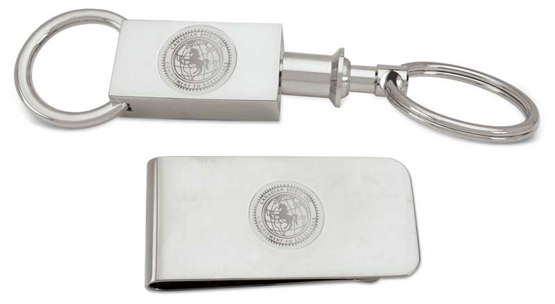 Key Ring and Money Clip in a K Award Presentation Box